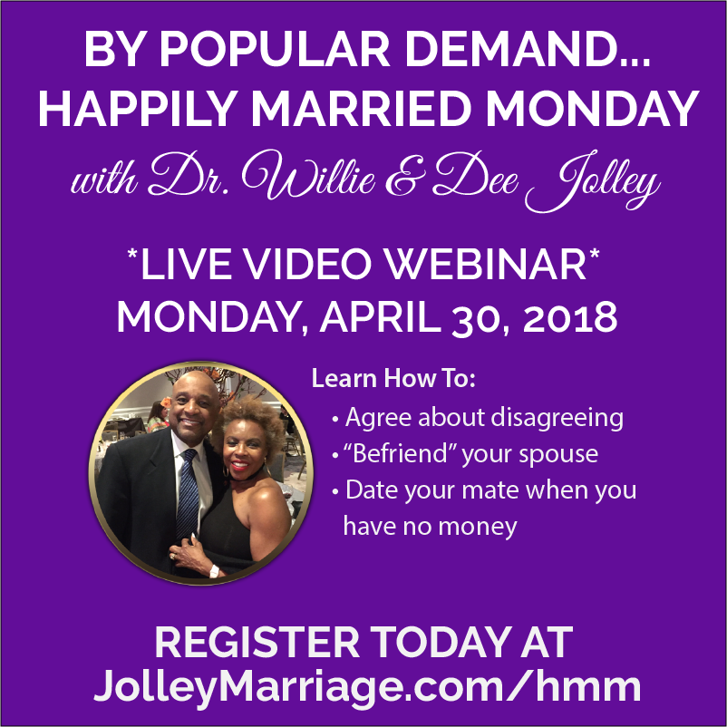 HAPPILY MARRIED MONDAY flyer