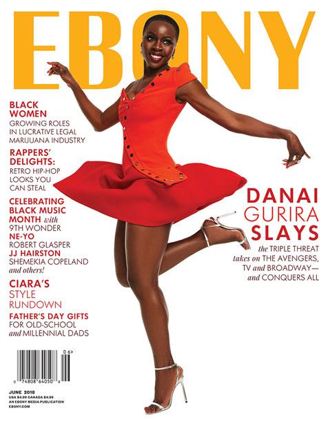 Ebony Magazine June 2018 cover