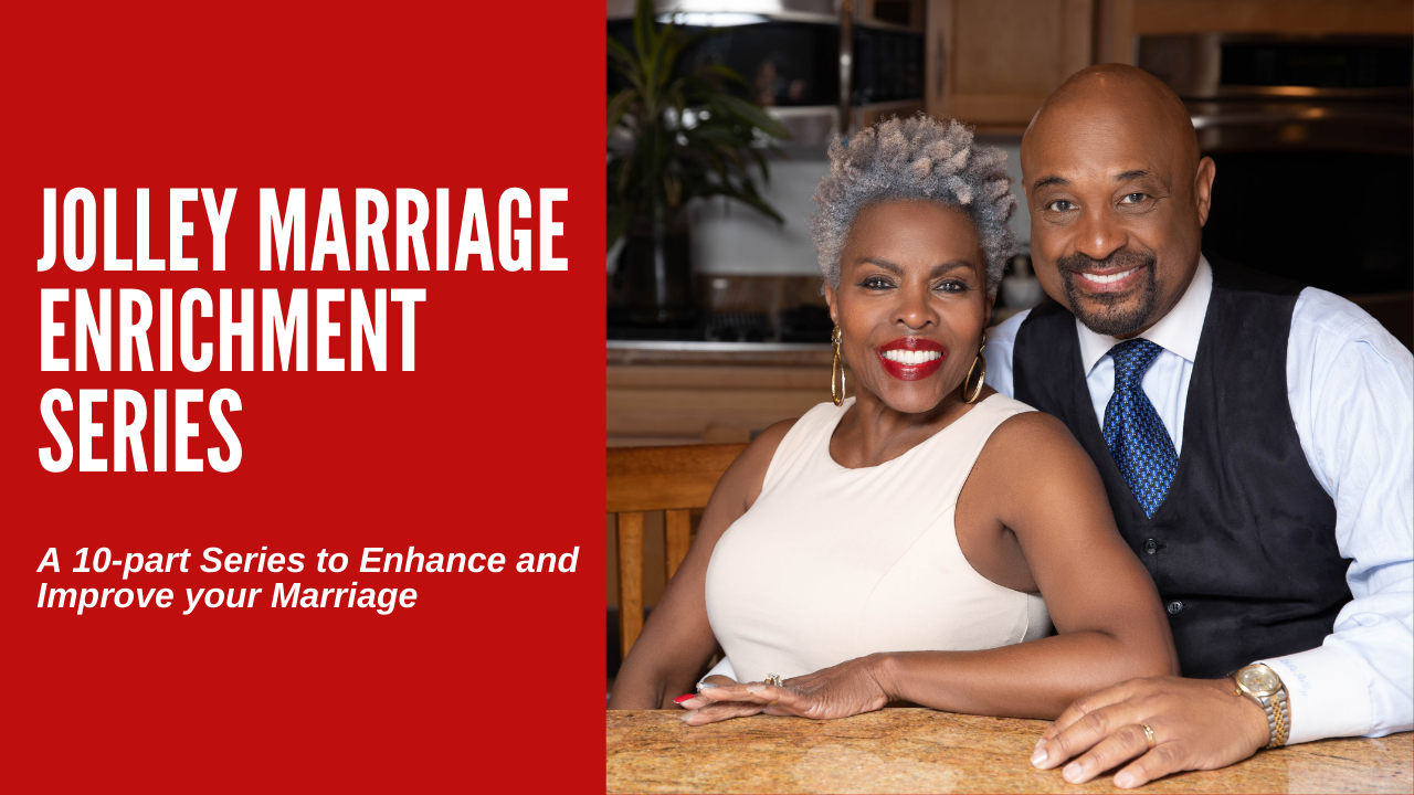 Jolley Marriage Enrichment Series poster